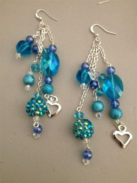 Handmade Earring Designs - diy earrings made jewelry ideas baubles and bling