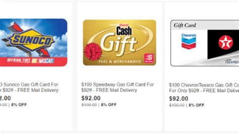 Gas Gift Cards For Sale - ebay gift card sale 100 gas cards for 92 more doctor of credit