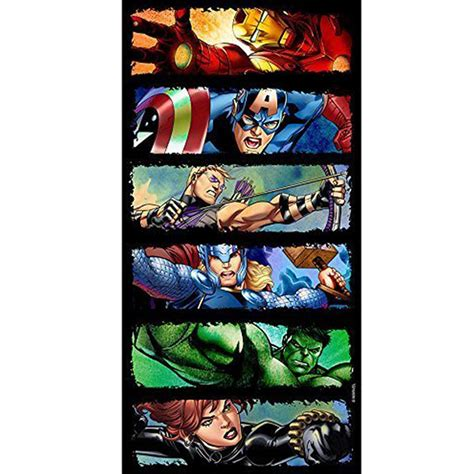 Marvel Bathroom Decor by Marvel Design 100 Cotton Bath Towels Superheroes
