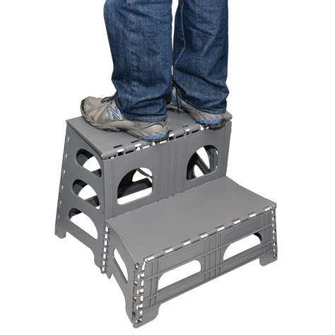 Collapsible 2 Step Stool by Folding 2 Step Stool