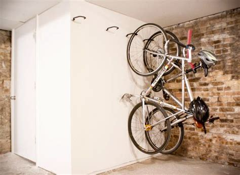 how to hang bicycles from the ceiling best 25 bike storage solutions ideas on
