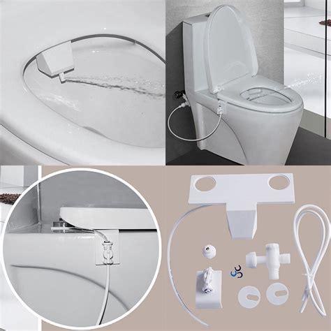 toilet seats with water spray australia non electric toilet bidet fresh water spray seat