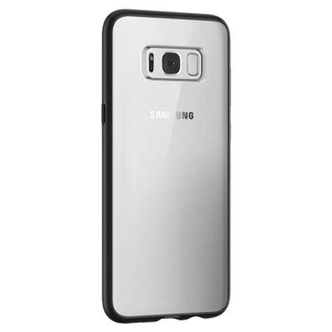 Samsung Galaxy S8 Hybrid Armor Soft Bumper Back Cl Berkualitas spigen ultra hybrid samsung galaxy s8 bumper matte black