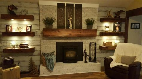 best 25 distressed fireplace ideas on