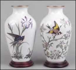 two franklin mint porcelain vases lot 1262063