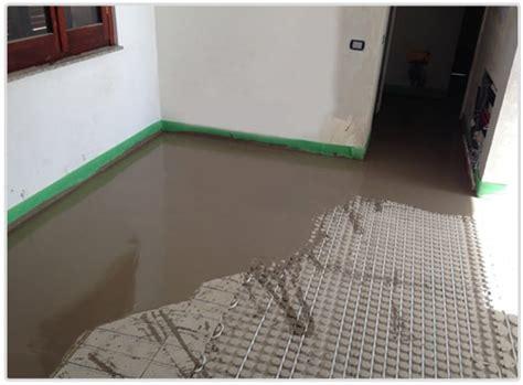 pavimento radiante a secco riscaldamento pavimento a secco ribassato