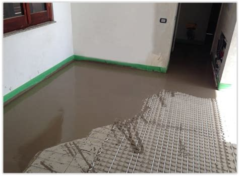 consumo riscaldamento a pavimento riscaldamento pavimento a secco ribassato