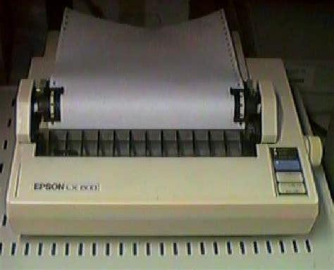 Printer Epson Lx 800 epson lx 800