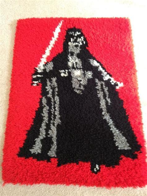 darth vader rug 1983 crochet darth vader rug rebelscum photo hosting