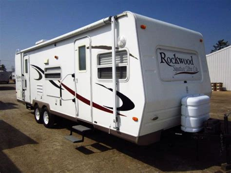 rockwood ultra lite travel trailer by forest river 2007 forest river rockwood signature ultra lite 8272s
