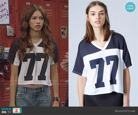 Dress Kc wornontv kc s 77 top on kc undercover zendaya clothes