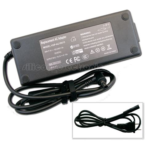 Charger Sony 2a 1 120w 19 5v ac adapter charger for sony vaio vgp ac19v45