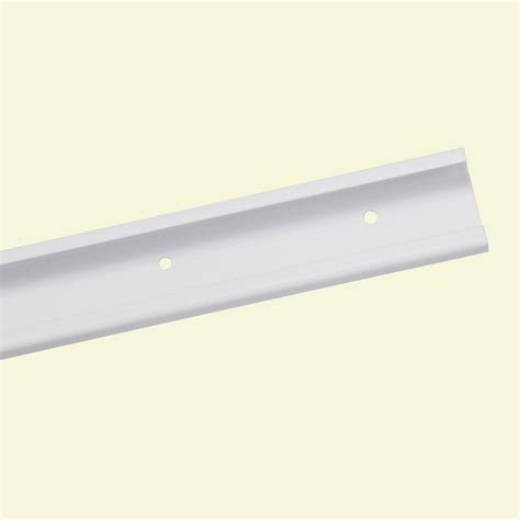 Closetmaid Rail Closetmaid Shelftrack 24 In White Hang Track 2824 The