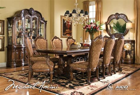 5 formal dining room sets 28 images classic chairs as aico 7pc windsor court rectangular dining table set in
