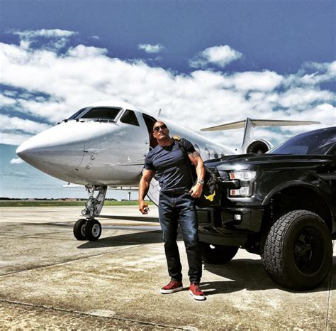 ford rock dwayne johnson displays his affection for the ford f 150