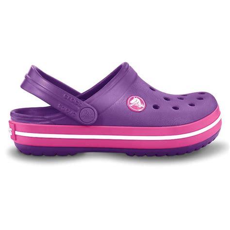 crocs crocband shoe dahlia fuchsia all the comfort