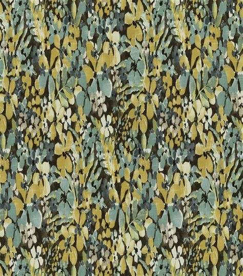 robert allen home decor fabric home decor print fabric robert allen floral sonata aloe