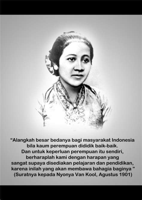 biography ra kartini bahasa indonesia short biography of raden ajeng kartini 10 best images