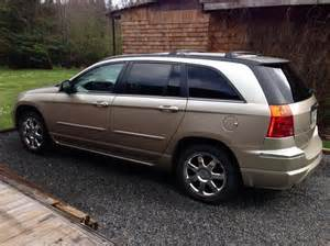 Is A Chrysler Pacifica A Or Suv 2007 Chrysler Pacifica Crossover Suv Outside Metro