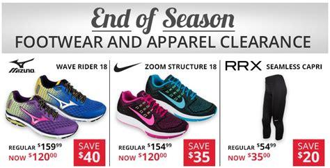 running room canada running room canada end of season sale foorwear apparel clearance canadian freebies