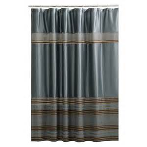 fabric shower curtain blue target