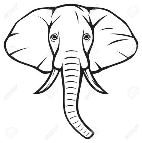 african elephant outline tattoo pinterest images of 14 best elephant project images on pinterest elephant