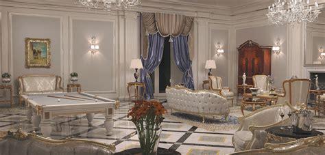 arredamenti interni di ville di lusso arredamento ville il contract nel classico di lusso