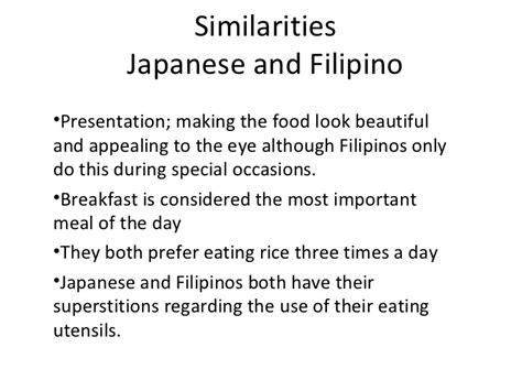11 Similarities Of And by Similarities And Differences Between Japan And Philippine