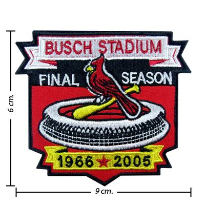 50 dollar sew in st louis st louis cardinals busch stadium embroidered sew on patch