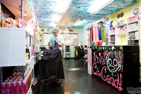 cute hair salon names viva cute candy kawaii colourful hair salon in tokyo