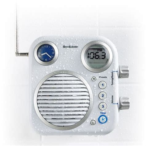 bathroom radios for those who love singing in the shower here is a shower radio for you stuff i