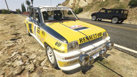 renault turbo rally renault 5 gt turbo rally gta5 mods com