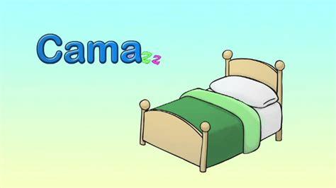 c 243 mo se dice cama en ingl 233 s