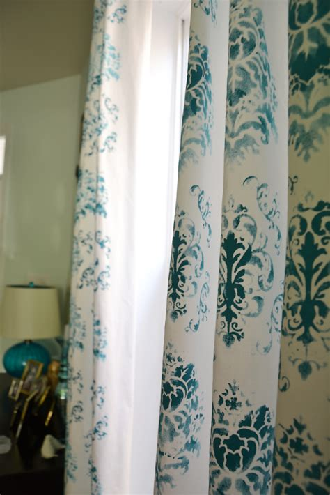 stencil curtains tyler d robinett stenciled curtains