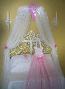 girls bed netting princess ballerina fairy bed canopy crown ballet by