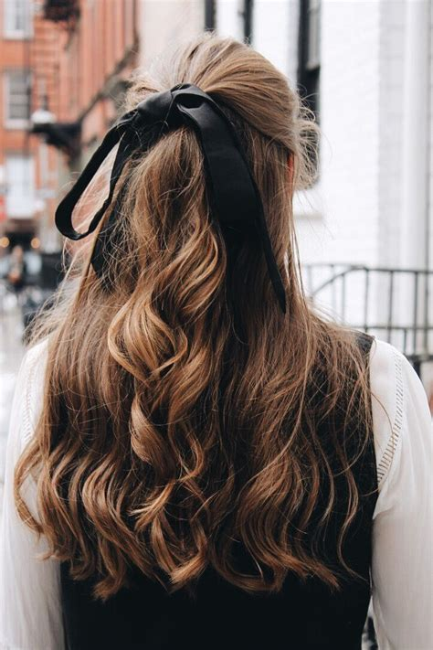 cute hairstyles ribbon best 25 ribbon hairstyle ideas on pinterest ribbon hair