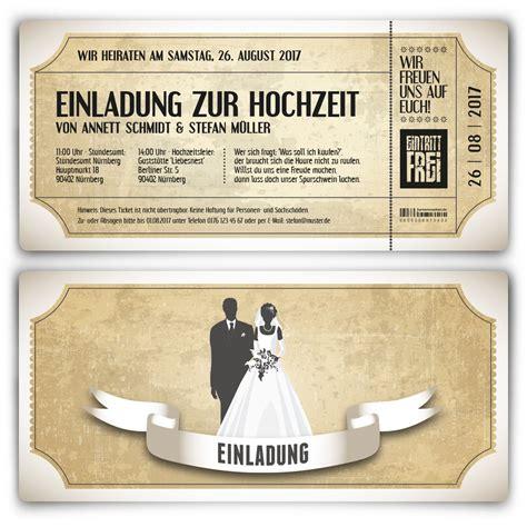 Einladung Hochzeitskarten by Einladungskarten Zur Hochzeit Vintage Brautpaar