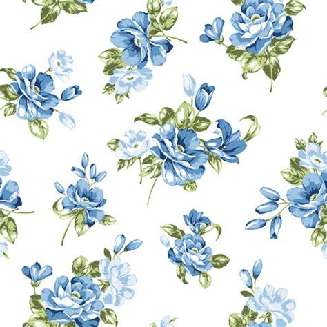 Muster Hintergrund Blumen Blau by Blue Flowers Seamless Pattern Vector Free