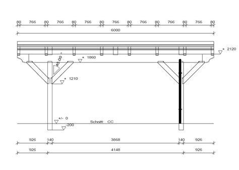 zeichnung carport spitzdach carport nach ihren w 252 nschen solarterrassen