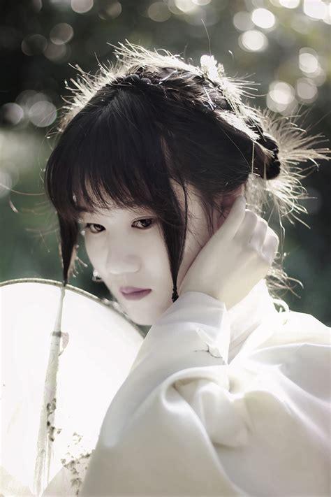 Hitam Black Model Kimono gambar orang gadis wanita putih fotografi potret