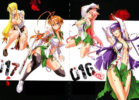high school of the dead amv highschool of the dead animals