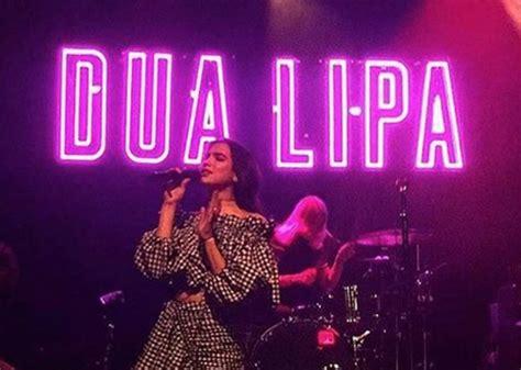 dua lipa upcoming concerts la chanteuse dua lipa devient ambassadrice de la marque