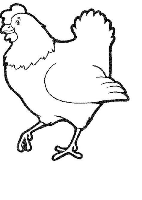 chicken coloring page free printable chicken coloring pages 11 free printable coloring pages