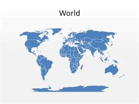 high quality royalty free world map powerpoint