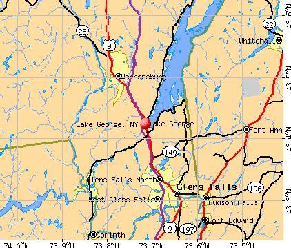 lake george colorado map lake george new york ny 12845 profile population maps