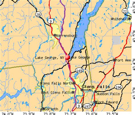 greater than a tourist â lake george area new york usa 50 travel tips from a local books lake george new york ny 12845 profile population maps