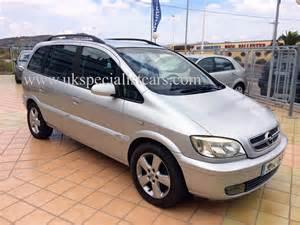 Opel 7 Seater Opel Zafira Diesel Automatic 7 Seater Lhd