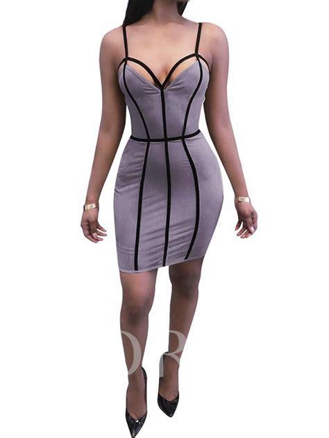 Backless Strappy Dress strappy backless s dress tbdress