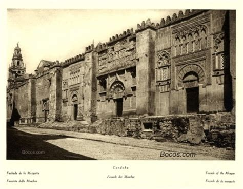 fotos antiguas cordoba fachada de la mezquita la espa 241 a inc 243 gnita