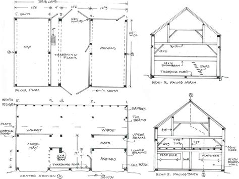 American Barn House Floor Plans | american barn houses plans house design plans